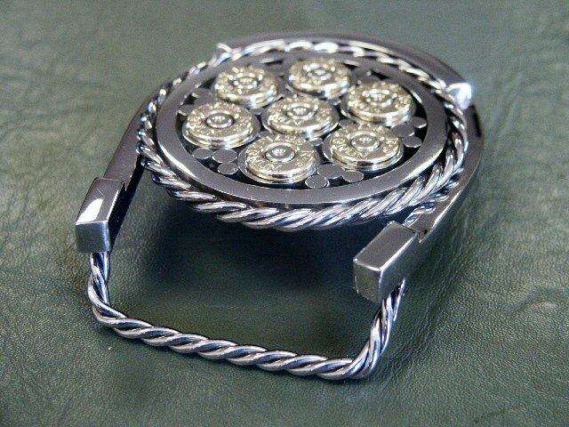 6 Gun Design Belt Buckle #21