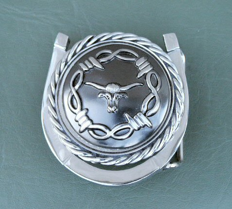 Concho Belt Buckle